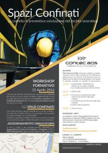 Programma Workshop Spazi Confinati Contec AQS