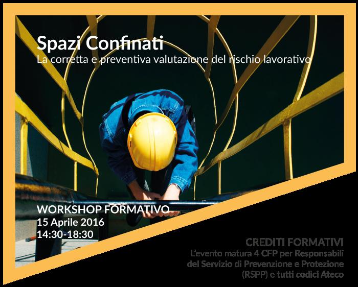 Spazi Confinati Workshop formativo Contec AQS