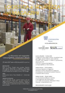 Seminario tecnico Logistica e sicurezza nei magazzini-programma