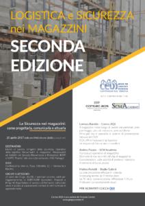 Seminario tecnico Logistica e sicurezza nei magazzini SECONDA EDIZIONE-programma